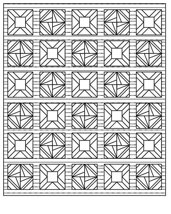 Quilter S Delight Coloring Book Etsy Geometric Coloring Pages Coloring Books Traditional Quilt Patterns