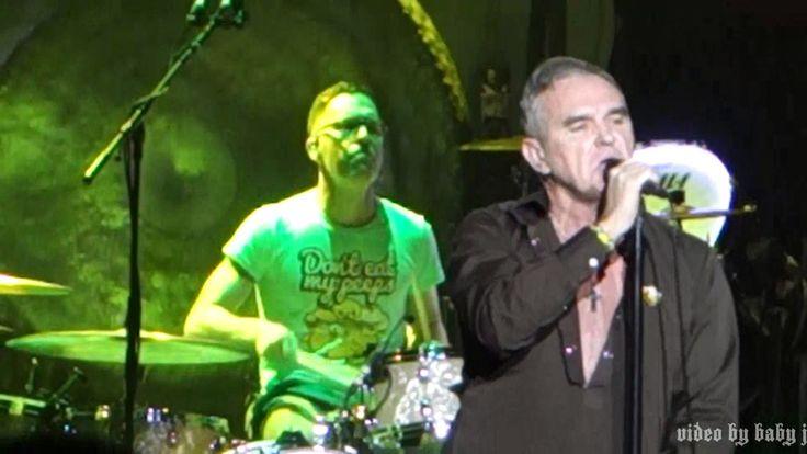 Morrissey-WHEN LAST I SPOKE TO CAROL-Live @ Fox Theatre, Tuscon, AZ, Apr...