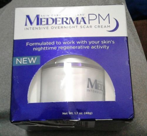 Scar and Stretch Mark Reducers: Mederma Pm Intensive Overnight Scar Cream 1.7 Oz Exp 5 17 Nib -> BUY IT NOW ONLY: $33.45 on eBay!