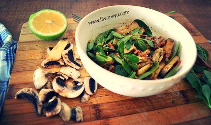 exotic salad , egzotik salata
