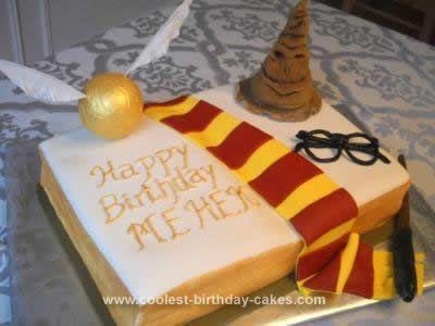Homemade Harry Potter Monster Book Cake This Homemade Harry Potter Monster Book Cake Has 2