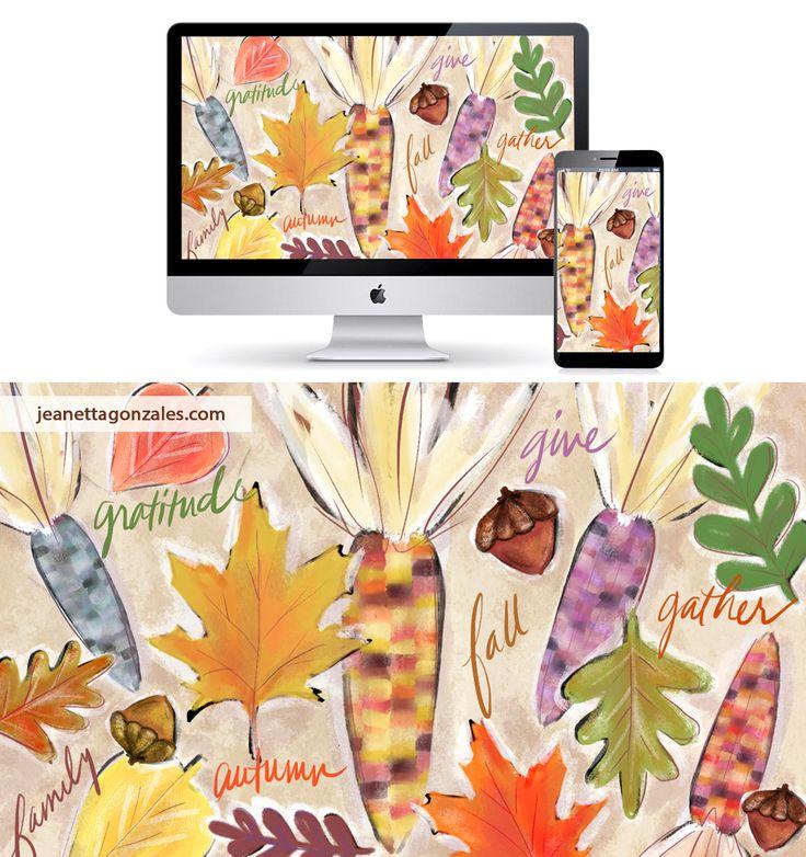 November Desktop Wallpaper : jeanettagonzales.com
