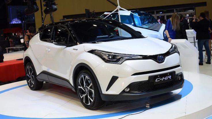 Toyota C-HR híbrido chega ao Brasil em 2018 para assustar HR-V