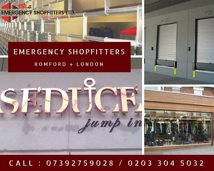 Emergency Shopfitters Ltd. With more than 2+ decade of #experience we have the ability to turn your vision into reality. We have in-depth knowledge on #materials, #shopfitting techniques and pricing options to create your desired result. Get in touch right away on our #emergency 24 hour phone numbers. Call: 07392759028 / 0203 304 5032 Or Visit our site - http://www.emergencyshopfitters.com/ #Shutters #Shopfitters #Shopfronts #Signs #Repairs #Romford #London #UK