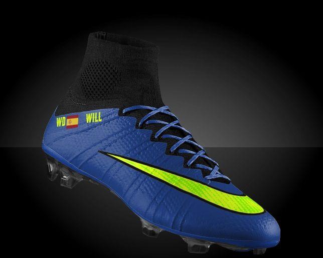 Nike id WD mercurial s...