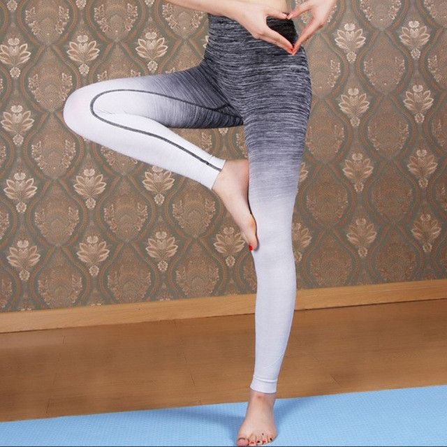 Codysale Fitness Leggings Women 2017 New Dyed Elastic Workout Girls Skinny Pants High Quality Wholesale Puch Up Trousera Capris