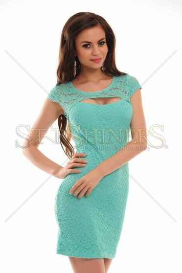 Rochie Chic Situation Turquoise