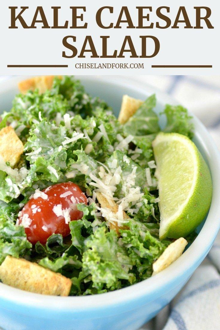 Easy Salad Recipes Shrimp Pasta Salad Recipes Good Salad Recipes Easy Salad Recipes Shrimp Pa Kale Caesar Salad Healthy Salad Recipes Kale Recipes Healthy