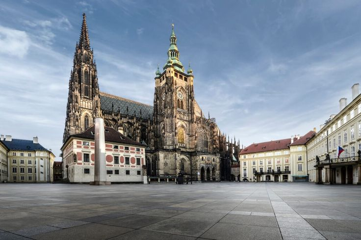 According to the Guinness Book of World Records, Prague Castle is the largest coherent castle complex in the world, with an area of almost 70,000 m².