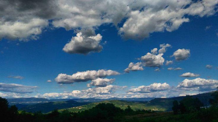 This sunny/cloudy Croatia #croatia #roadtrip #holydays #hills #summer #latergram