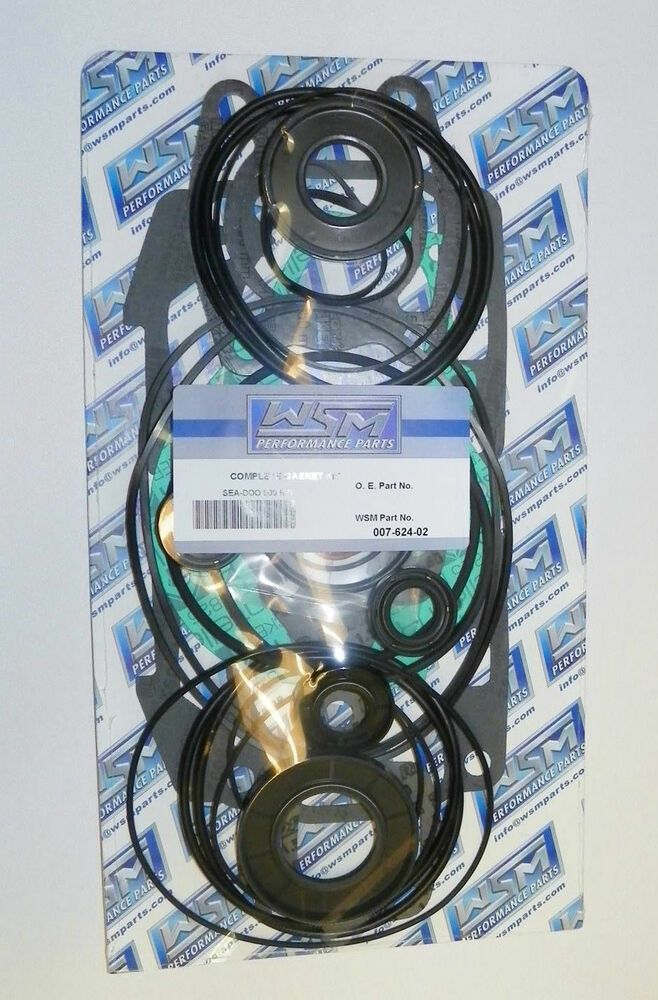 Details about WSM SeaDoo 800 RFi Complete Gasket & Seal Kit PWC OE