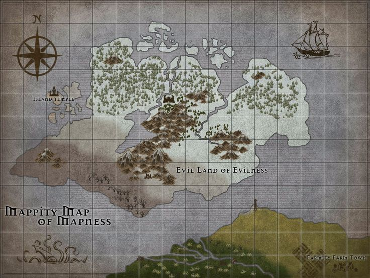 Foto: okay, so friend of mine posted this sweet map making software on fb and it is AWESOME. this is a map i threw together in about 30 minutes or so, just to show the range of what you can do with it.  here's the link:http://inkarnate.com/