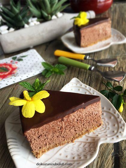 çikolatalı cheesecake pişirilmedin