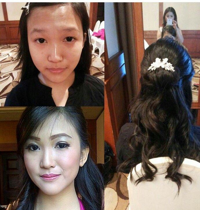 Make up bridesmaid