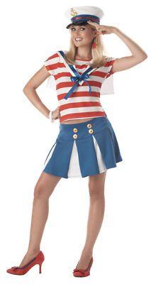 Sailor Cruise SHIP Cutie Teen Navy Costume | eBay