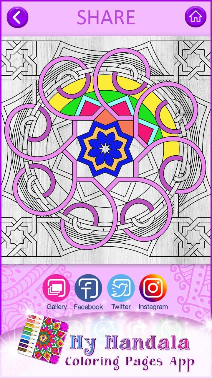 Mandala Coloring Pages App My Mandala Coloring Pages App For Android Apk Download Mandala Coloring Pages Mandala Coloring Cute Coloring Pages