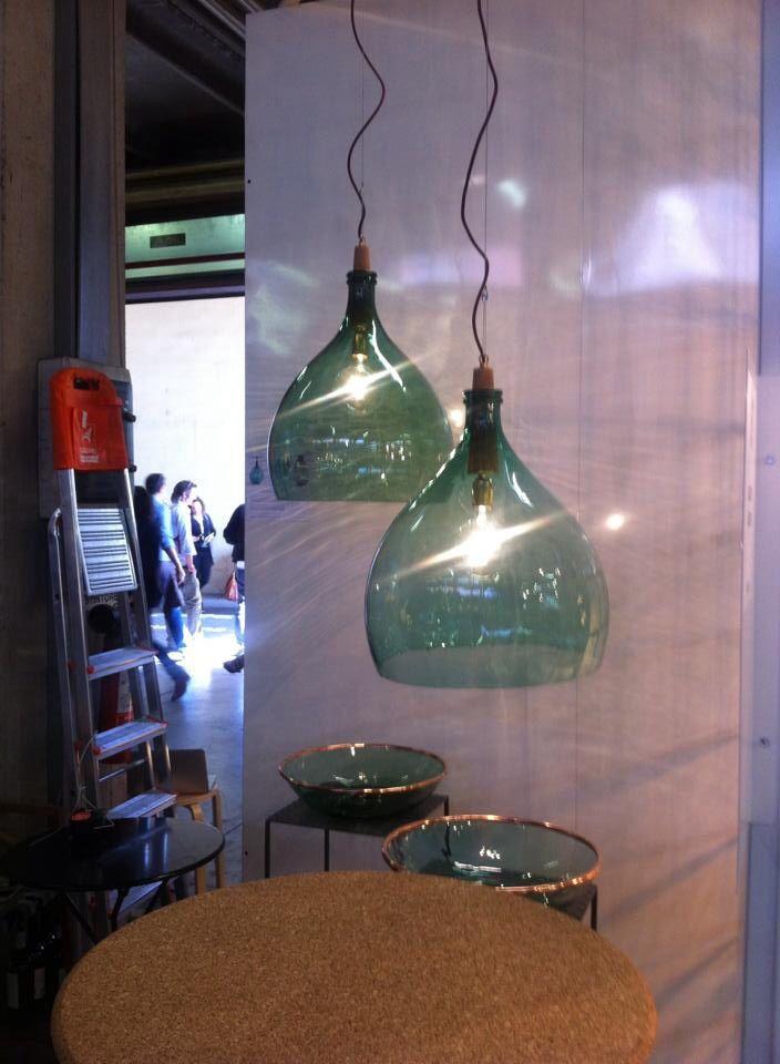 Demijohn lamps - Luca Martorano + Mattia Albicini