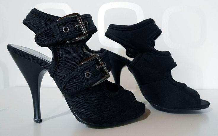 Escarpins noirs taille 35 2 brides