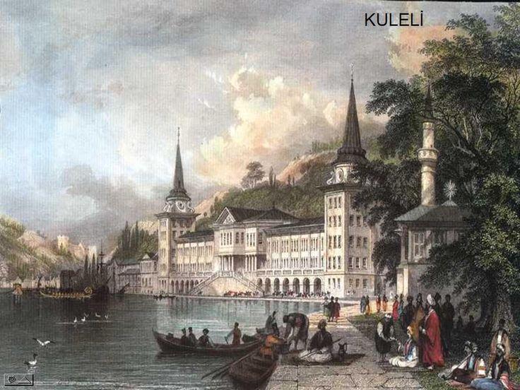 İstanbul Gravürleri - İstanbul Eski resimleri