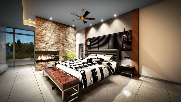 Modern Master Bedroom 3d Design Created In Chief Architect Rendered In Lumion Interior Design Software Modern Master Bedroom Chief Architect