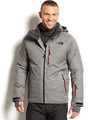 hyvent primaloft heathered ski jacket   coats amp jackets   men   macy s