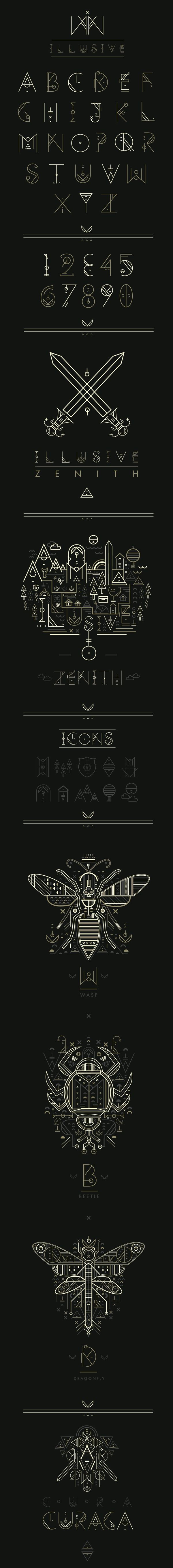 Illusive by Petros Afshar, via Behance
