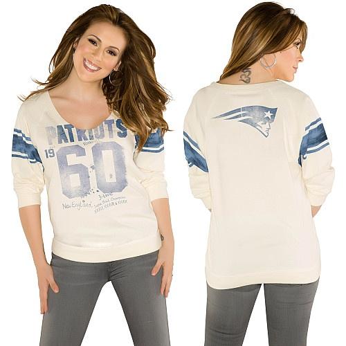 Touch By Alyssa Milano New England Patriots Friday Night Lights Long Sleeve T-Shirt