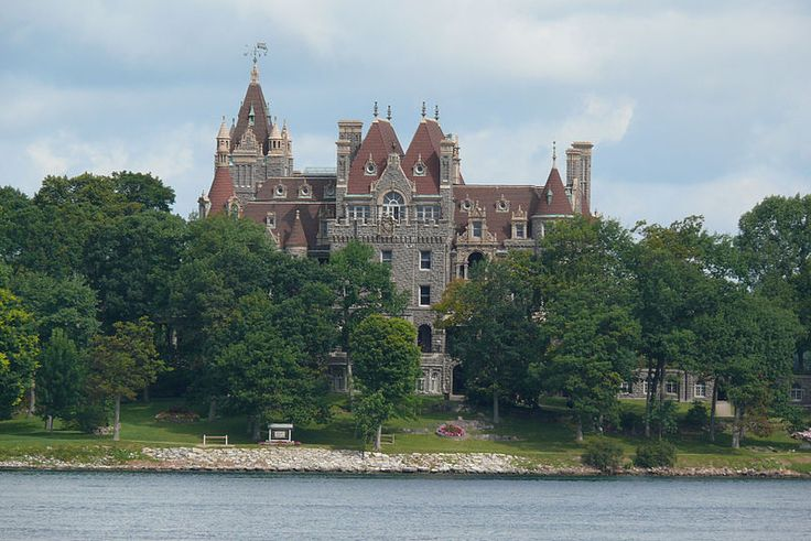 Boldt castle on Heart island in New York. Was once one of the largest homes in the U.S.A. A true American Castle