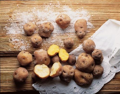 Papas Arrugadas, Canarian Potatoes- Try them every Tuesday @ Gofio's Canarian buffet.