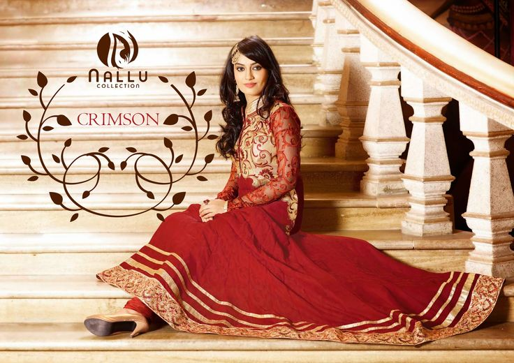 Contemporary Crimson #Anarkali Suit  ✔ Style Type : Anarkali Suit ✔ Dupatta : Chiffon ✔ Color : Red,Cream ✔ Fabric : Faux #Georgette ✔ Work : Jaal Work, Lace Work, Resham Work.   ☛Shop @ : http://goo.gl/HpV94K