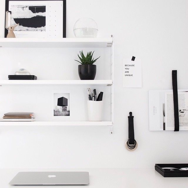 I'm ready for the week! hooray!  #workspace #interior #myhome