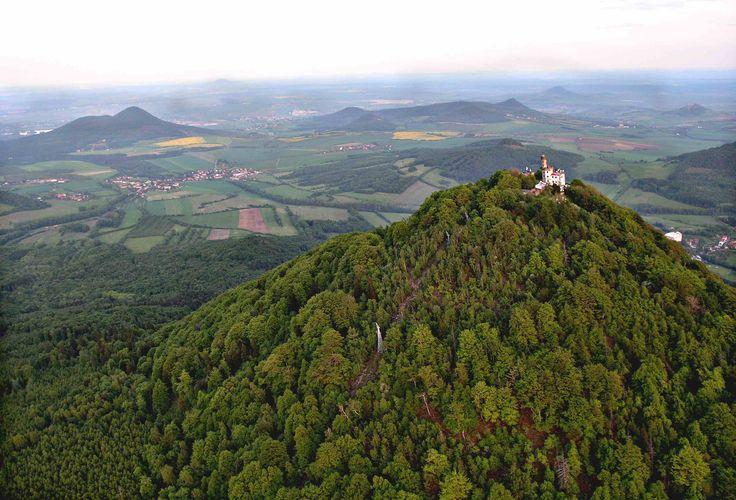 The České středohoří, Central Bohemian Uplands, Czech Republic.