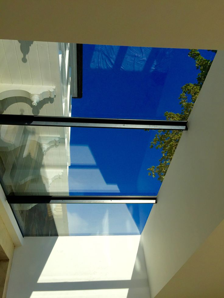 Flushglaze skylight (aluminium back to back angles) -  specified by Oasys Property Solutions for a great garden room extension project.