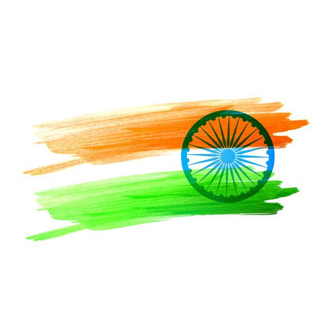 Indian Flag Made With Color Strokes Flag Of India 15 August Watercolor Flag Flag Of India India Png And Vector With Transparent Background For Free Download Indian Flag Colors Indian Flag