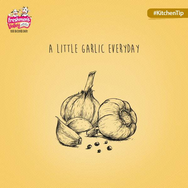 5ml of garlic extract lower levels of a disease-causing chemical by up to 48 per cent.