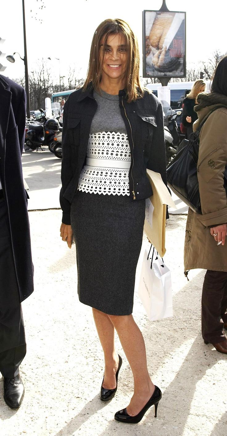 Carine roitfeld a wardrobe retrospective