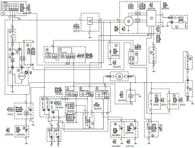 105 best images about auto manual parts wiring diagram on