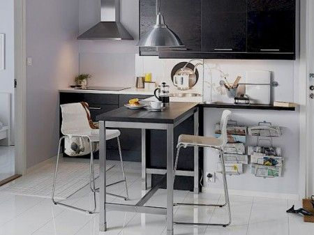 small tall kitchen tables for small spaces
