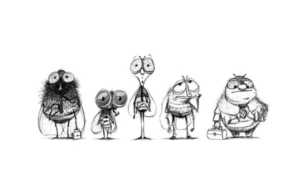 The fly on Character Design Served