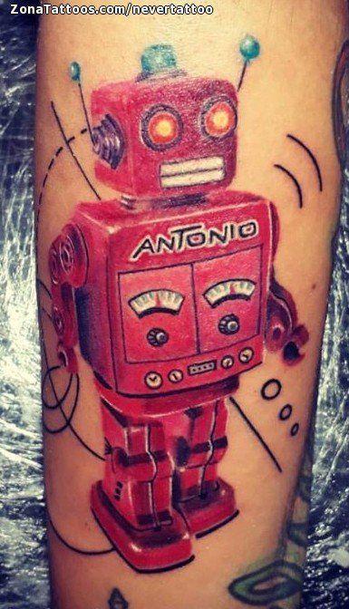 Tatuaje hecho por Eric de Valle del Cauca (Colombia). Si quieres ponerte en contacto con él para un tatuaje/diseño o ver más trabajos suyos visita su perfil: https://www.zonatattoos.com/nevertattoo  Si quieres ver más tatuajes de robots visita este otro enlace: https://www.zonatattoos.com/tag/573/tatuajes-de-robots  Más sobre la foto: https://www.zonatattoos.com/tatuaje.php?tatuaje=108683