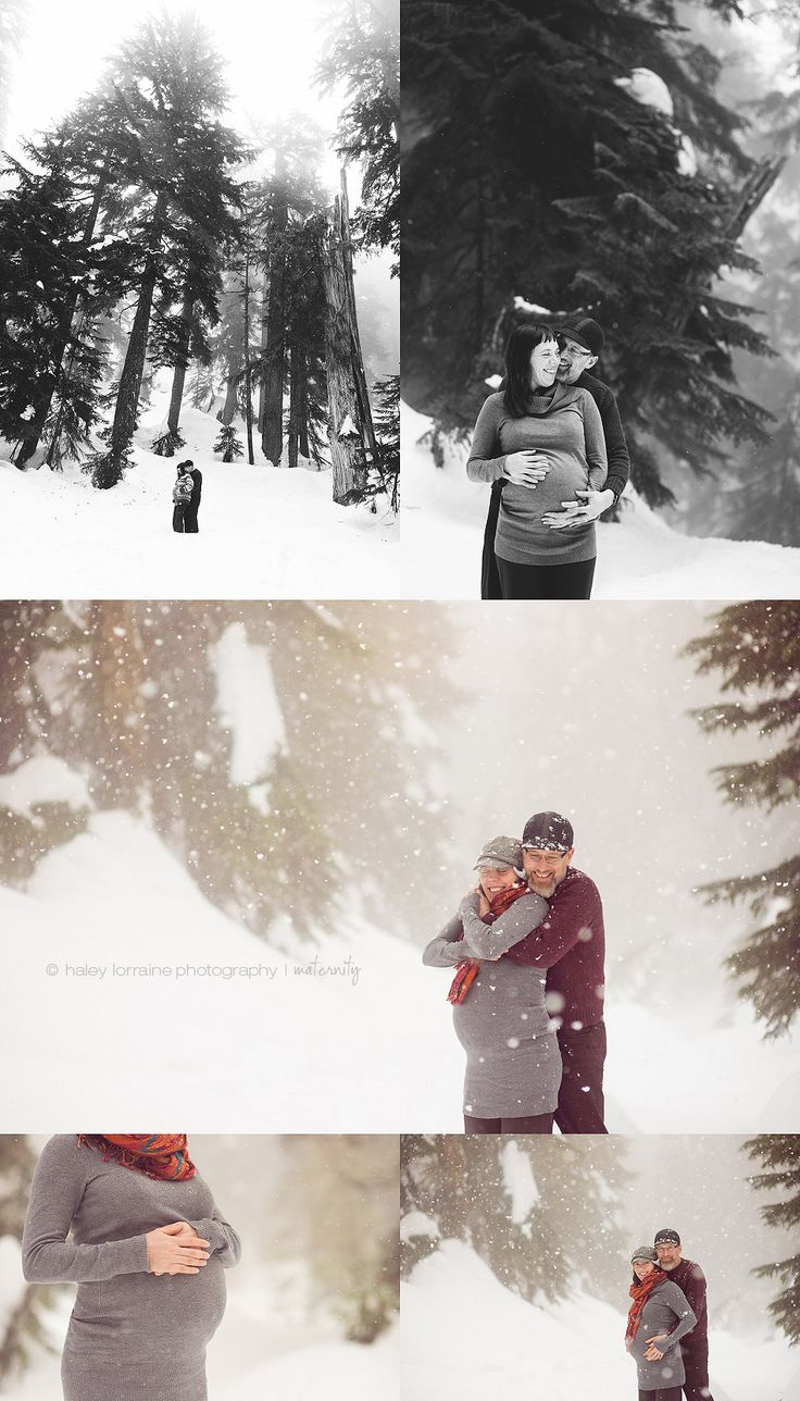 Winter Beauty | Vancouver Lifestyle Maternity Photography