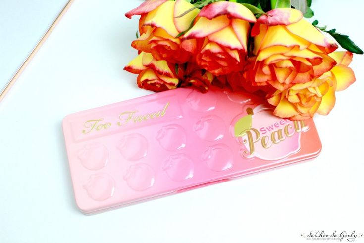 La Sweet Peach de Too Faced