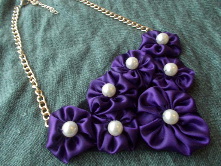 pearls in purple!