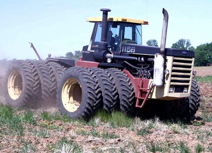 Big Ford Tractors : Best tractors images on pinterest