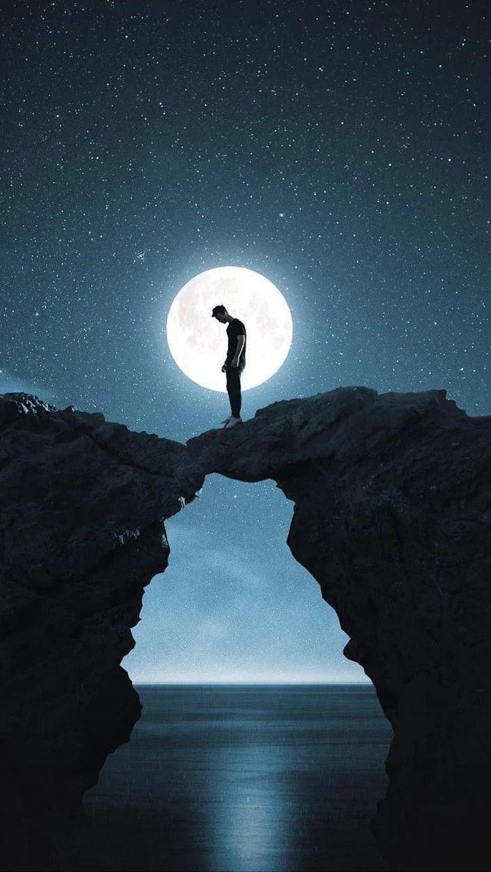 Pin By Fernando Rodriguez On Full Moon Night Sky Photos Sky Art Moon Photography