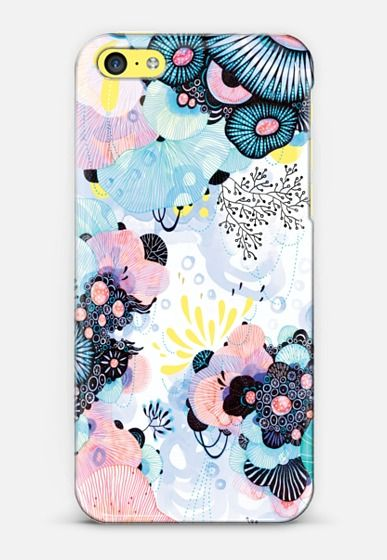 Blue Amble iPhone 6 case by Yellena James | Casetify