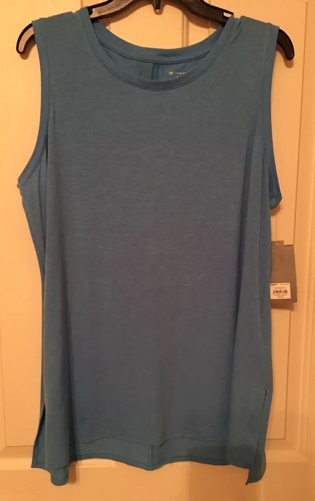 e71e954b1a Womens New Blue Sleeveless Active Wear Top Size XL By Tek Gear #fashion # clothing #shoes #accessories #womensclothing #activewear (ebay link) -  Myrna Lund ...