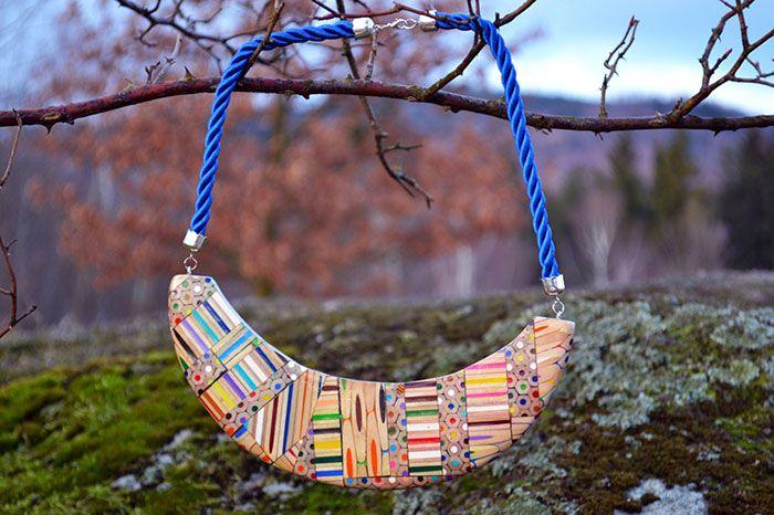 Des-bijoux-avec-des-crayons-par-Anna-curlejova-2