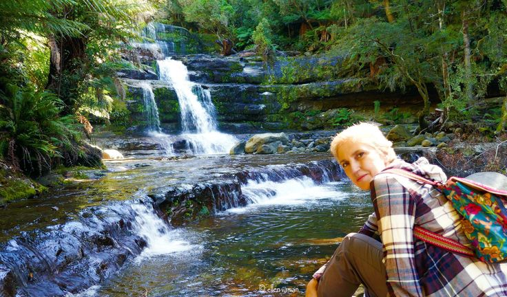 a beautiful moment at the Magnificent Liffely falls, Tasmania …  Photograph © Ellen Vaman www.facebook.com/ellen.vaman1 #EllenVaman #Photography #LiffeyFalls #Waterfall #RainForest #Tasmania #Nature #Earth #World #NaturePhotography
