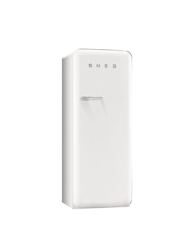 Smeg FAB28RB1 Standkühlschrank / A++ / 248 L / Weiß / mit integriertem Gefrierteil / Rechtsanschlag: Amazon.de: Elektro-Großgeräte